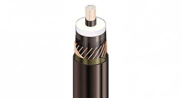 Силові кабелі з мідним провідником, з XLPE та зовнішньою оболонкою із ПВХ