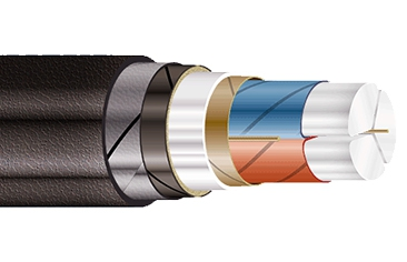Силовые кабели с бумажной пропитанной изоляцией на напряжение от 1 до 10 кВ