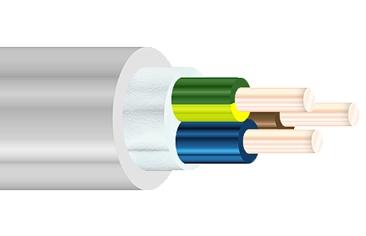 Силовые кабели с пластмассовой изоляцией на напряжение 0.66 кВ